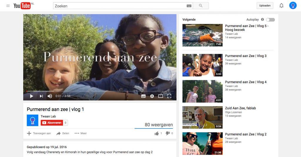Leer vloggen